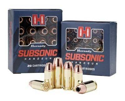 Hornady - Subsonic Handgun 40 S&W Ammo