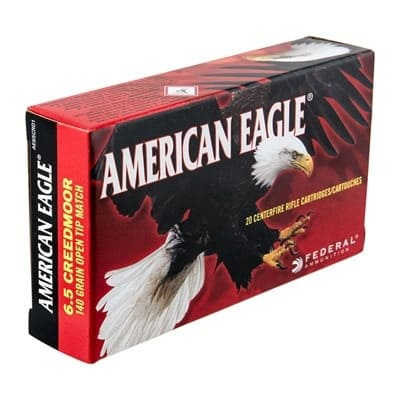 American Eagle - American Eagle Ammo 6.5mm Creedmoor 140gr OTM