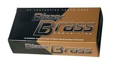 CCI - Blazer Brass Ammo 40 S&W 180gr FMJ-FN
