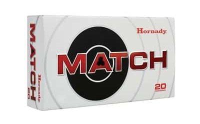 Hornady - Match Ammo 6.5mm Creedmoor 120gr ELD Match
