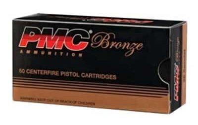 PMC Ammunition, Inc. - Bronze Ammo 40 S&W 180gr FMJ