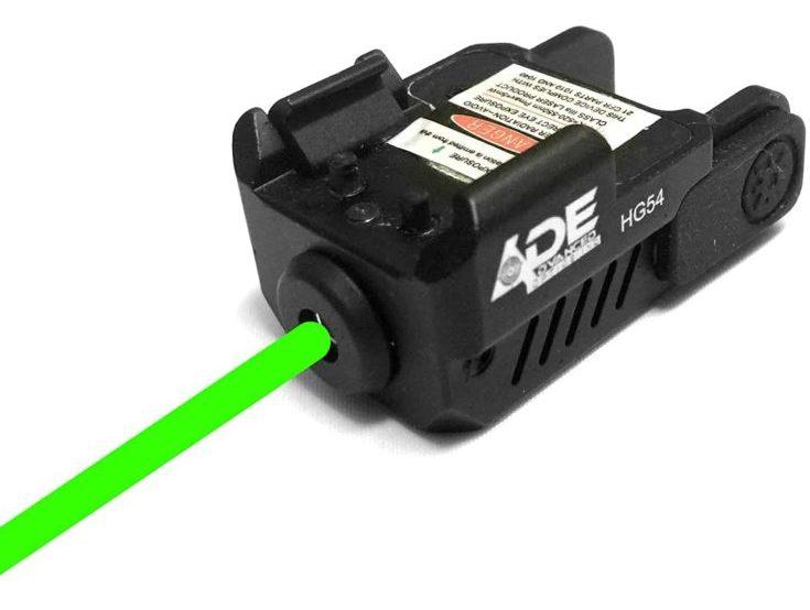 Ade Advanced Optics HG54G Strobe Laser Sight for Pistol Handgun