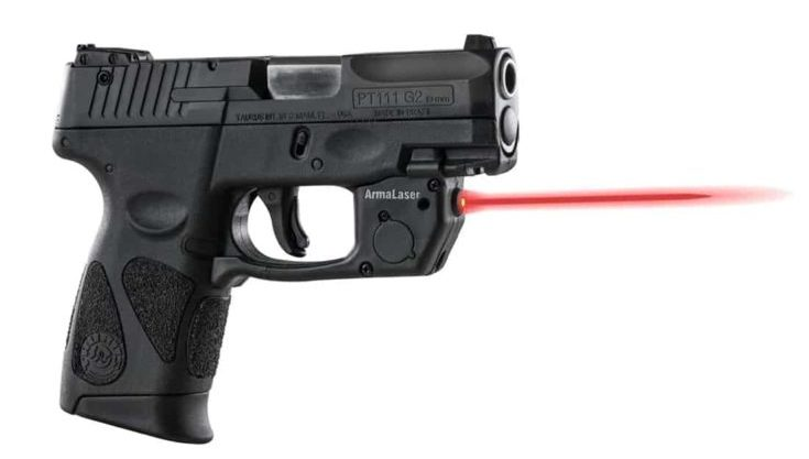 ArmaLaser Red Laser Sight with Grip Activation