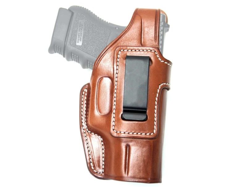 Cebeci Arms Taurus Leather IWB Holster, Color: Brown