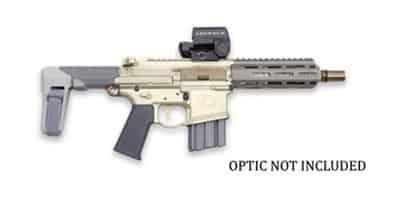 """Q- Honey Badger 300 BLK 7"""" Pistol"""