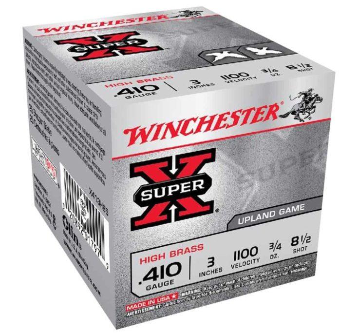 WINCHESTER - SUPER X HIGH BRASS 410 GAUGE AMMO