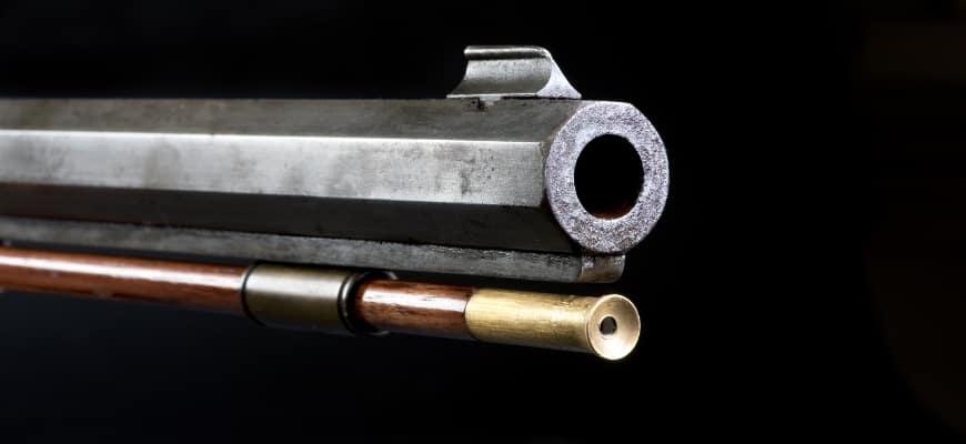 6.5 Creedmoor Rifle Barrels in black background