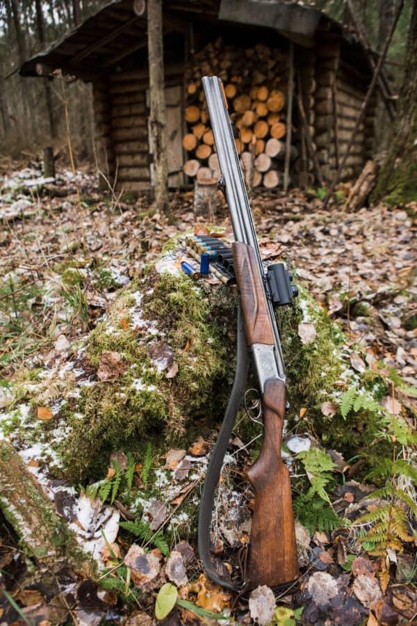 American rifle M1 Garand of the Second World War