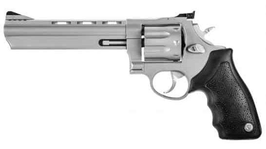 "Taurus 608 Large 6.5"" .357 Mag/.38 Spl +P Revolver, Matte Stainless Steel"