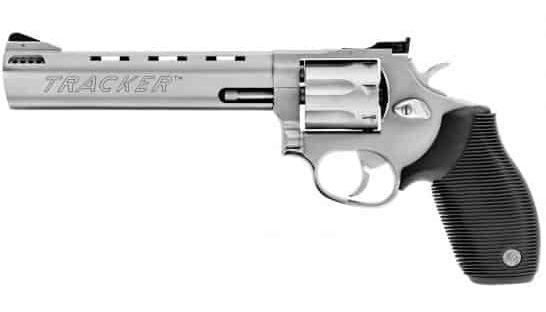 """Taurus Tracker 627 Medium 6.5"""" .357 Mag/.38 Spl +P Revolver, SS - 2-627069"""