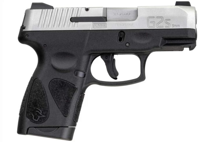 Taurus® G2s Matte Stainless 9mm Luger Compact 7 Rds. Night Sights