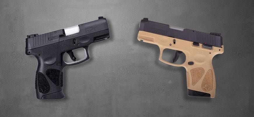Taurus G2c and Taurus G2s guns