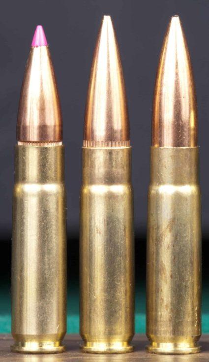 Three cartridges 300 AAC BLACKOUT