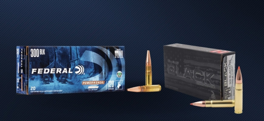Boxes of 300 Blackout Ammo