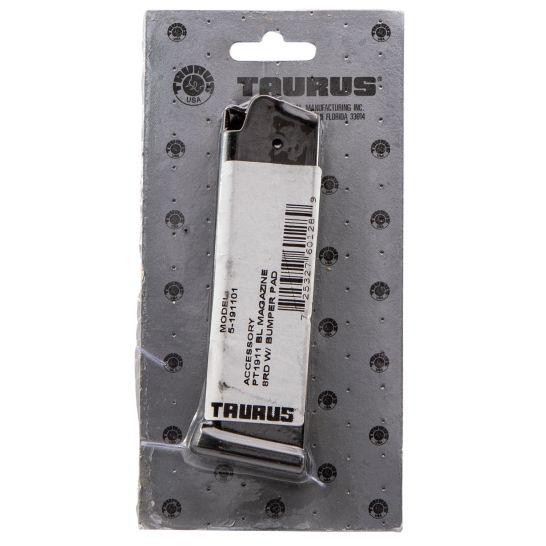 Taurus 8 Round .45 ACP Detachable Magazine, Blue