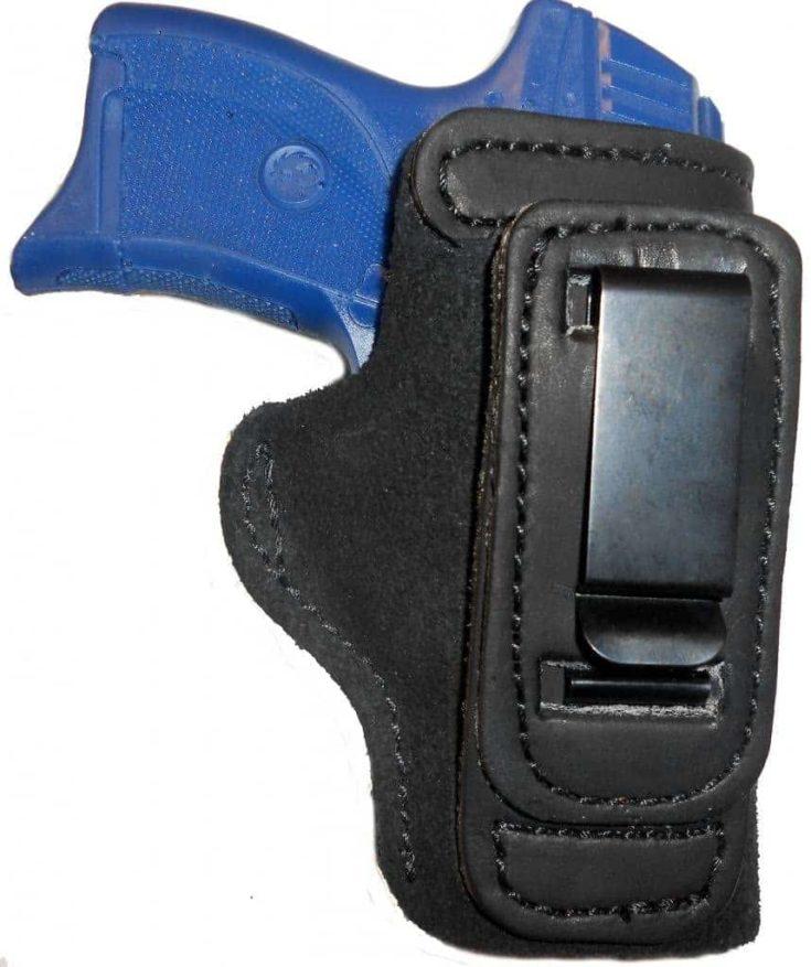 "Taurus PT1911 5"" Leather Gun Holster Pro Carry Shirt Tuck Right Hand IWB Black"