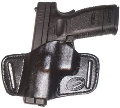 """Taurus PT1911 5"""" Leather Gun Holster Pro Carry SOB Right Hand Small of Back Black"""