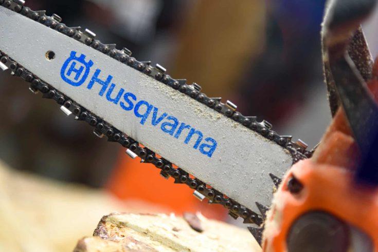 Chainsaw Husqvarna emblem