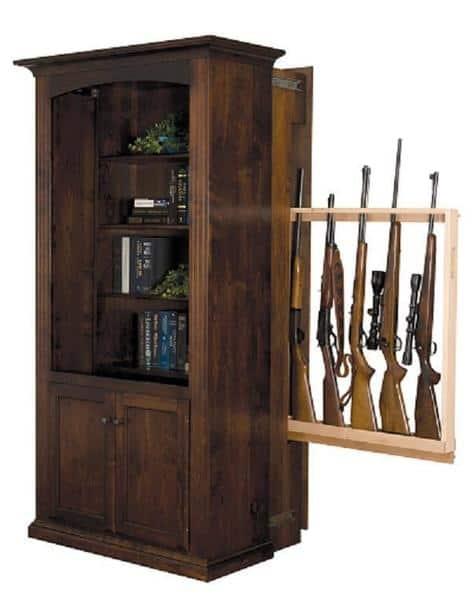 Patriot Large Hidden Gun Storage Bookcase