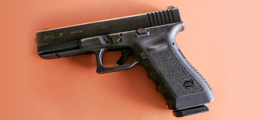 PG Glock 31 and magazine