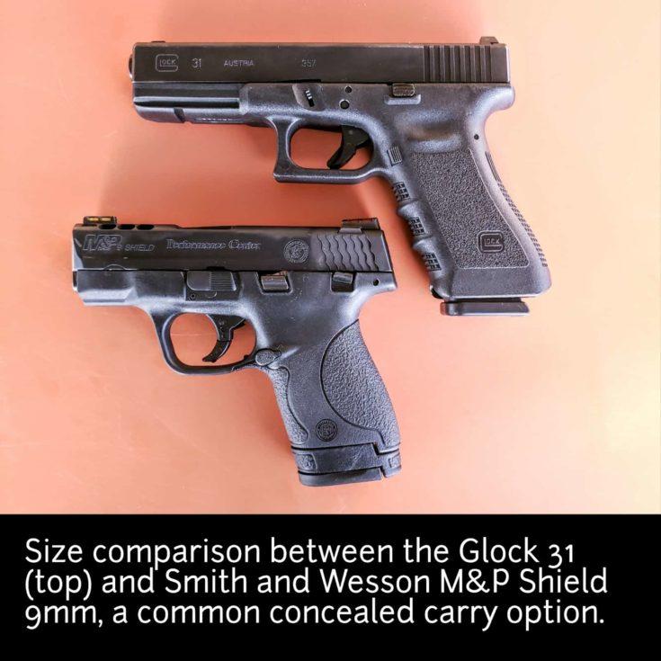 PG Glock 31 comparison