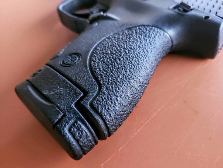 Grip and Texturing of PG Smith and Wesson M&P Shield