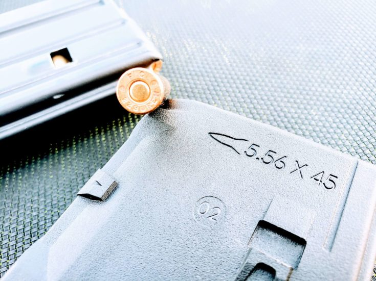 AM15 two Magazine with a bullet