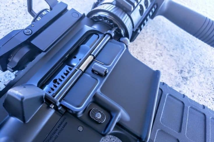 Rugger AR556 Ejection Port Cover