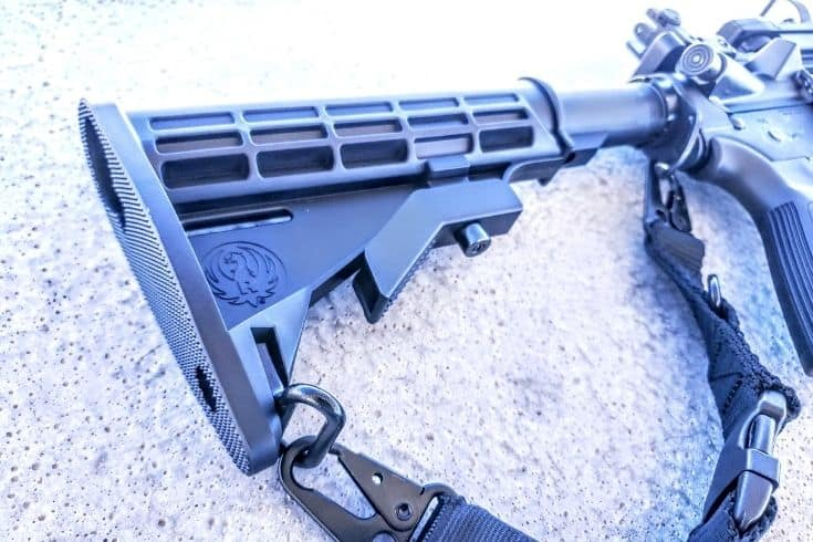 Adjustable Butt-Stock for Ruger AR556