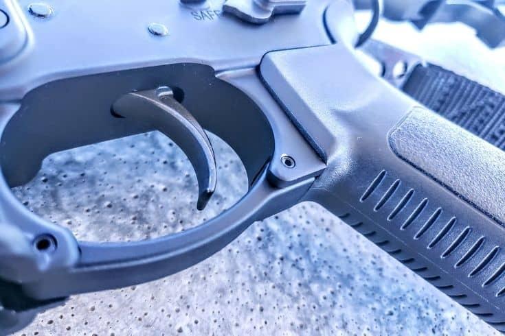 Rugger AR556 Open Trigger Guard