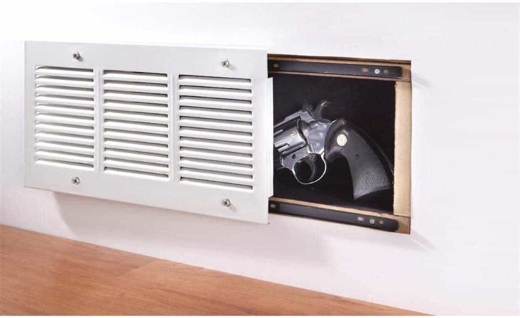 Airflow Vent with a hidden compartment