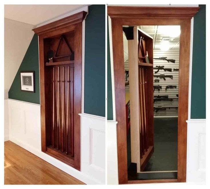 Attic Storage Gun Space