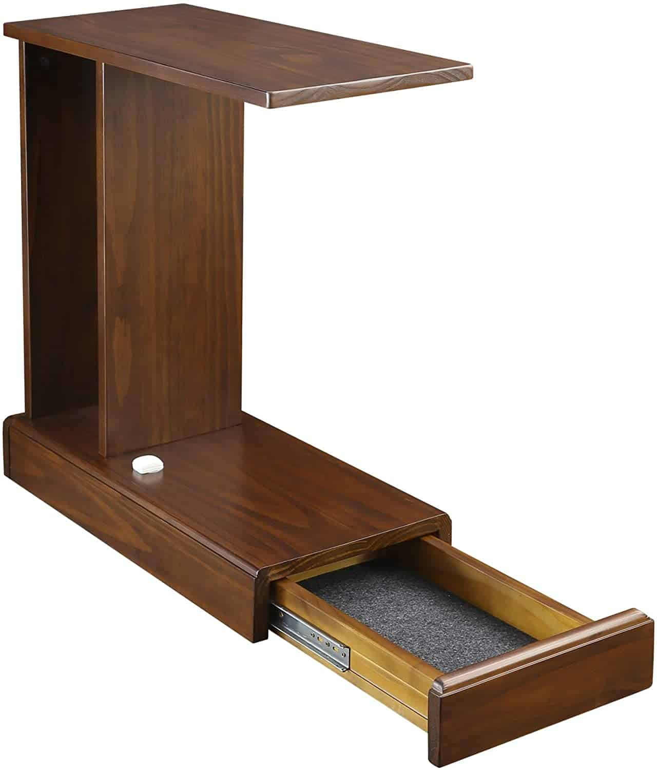 C table with a hidden storage