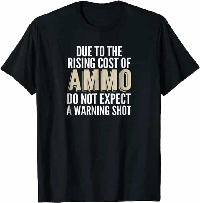 Gun Lover T-Shirts Funny Pro Gun Shirt