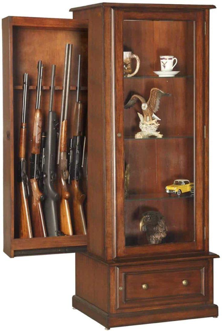 Hidden cabinet rack