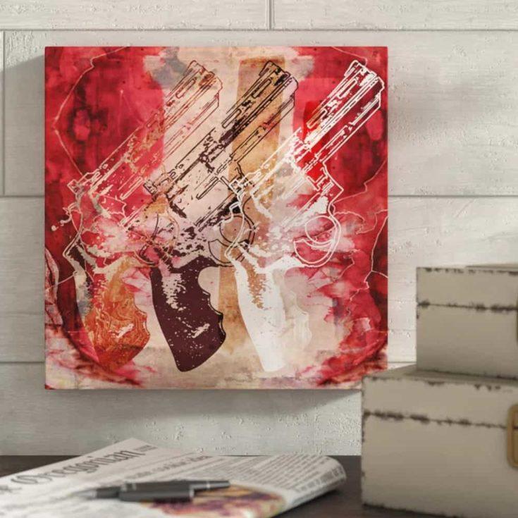 LAB Creative Unframed Graphic Art on Canvas