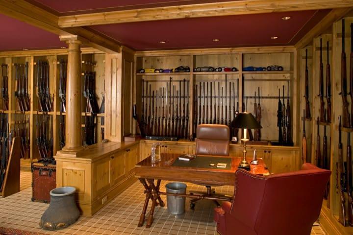 Office Space Gun Room