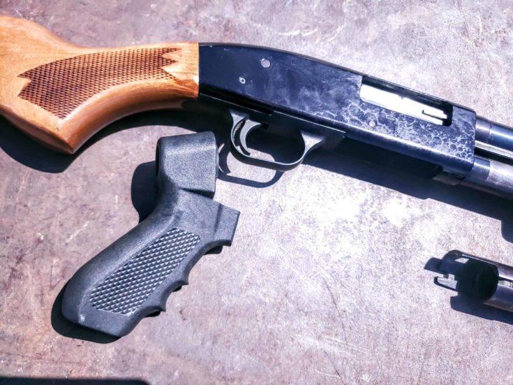 Pistol Grip of Mossberg