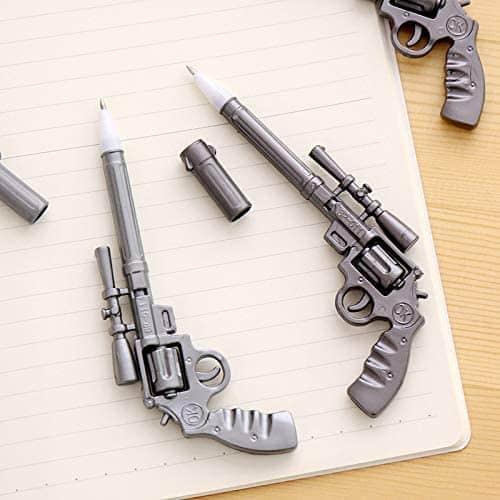Pistol Shape Pens Revolver