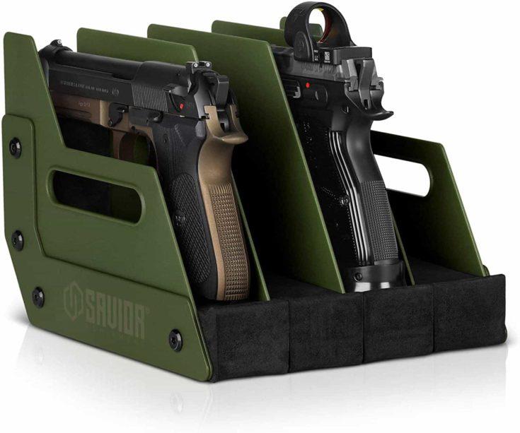 Savior Equipment Gun Pistol Revolver Firearm Handgun Rack Stand
