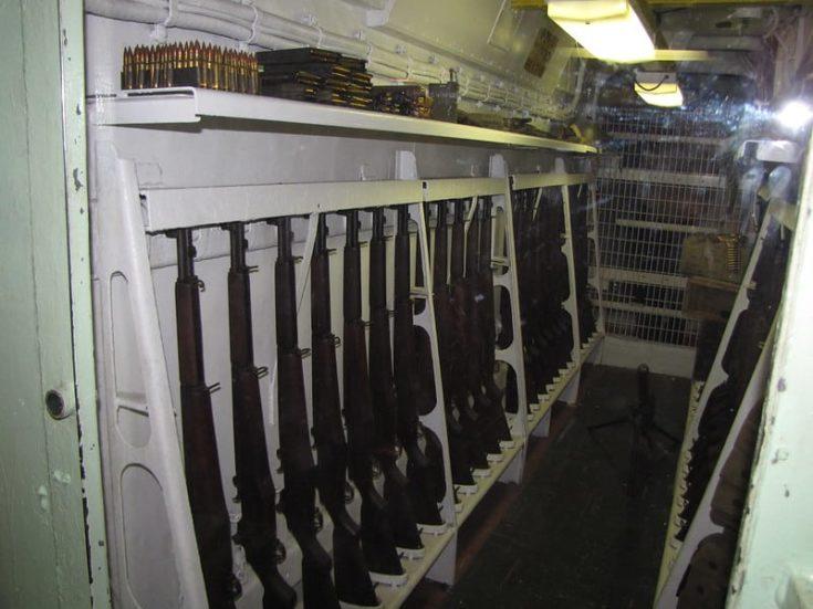 Small Space Gun Room