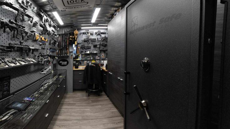 Vault Room with many guns