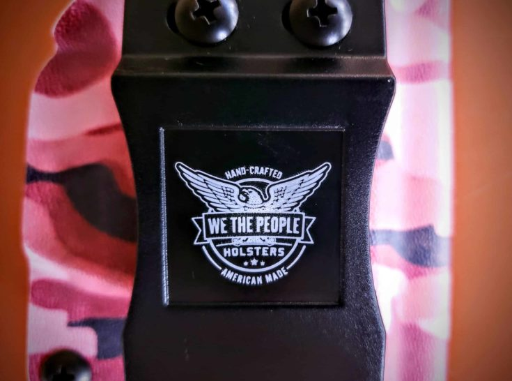 focus on We The People Holsters logo