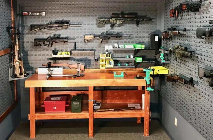 Gun Room Bench