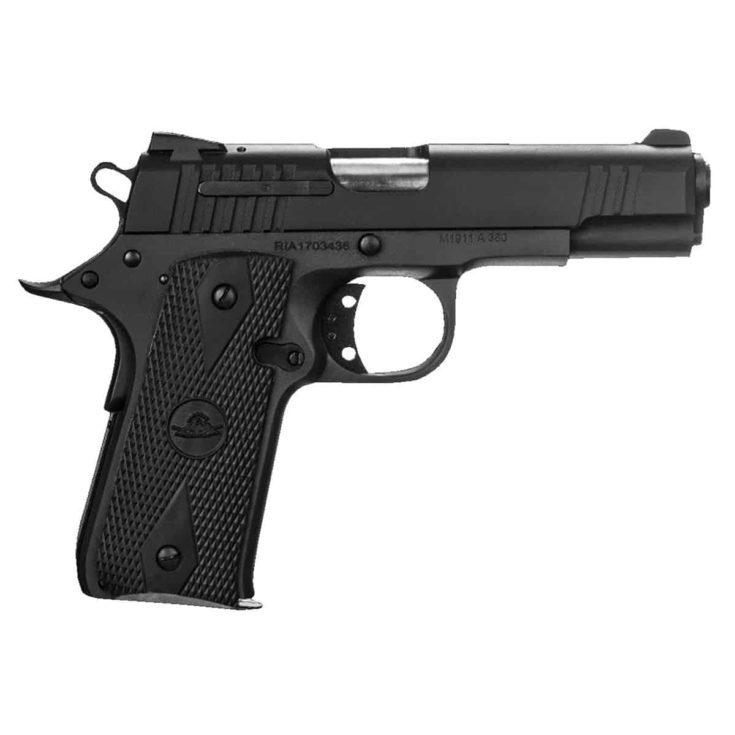 RIA Baby Rock .380 ACP Pistol, Black - 51912