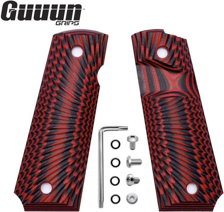 Guuun 1911 Grips G10 Full Size